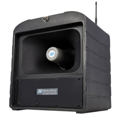 New Mega Hailer from AmpliVox Delivers Clear Sound Over Vast Spaces