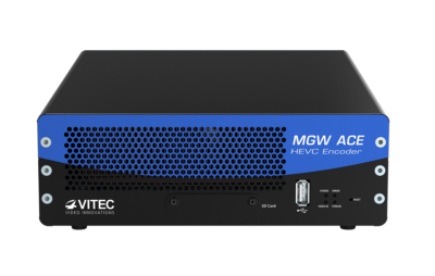 VITEC's MGW Ace, World's First Portable HEVC Hardware Encoder, Wins IBC2015 Best of Show Award