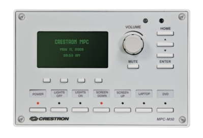 Crestron RELEASES THE MPC-M50 MEDIA PRESENTATION CONTROLLER™