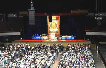 PRG Selects Meyer Sound System for Dalai Lama's Address at Long Beach Arena