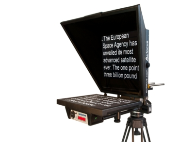 AUTOCUE RAISES THE BAR WITH NEW 12 INCH TELEPROMPTER