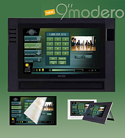 AMX NEW MODERO RAISES THE BAR FOR TOUCH PANEL EXPECTATIONS