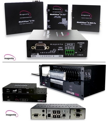 Magenta Research to Demonstrate Enhanced MultiView Line and New Voyager Series Products at ISE 2012