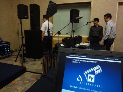 Electro-Voice Hosts Microphone Workshops in Asia