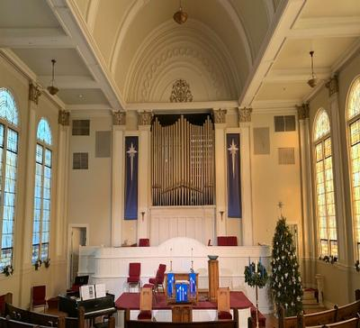 Marshall PTZ Cameras Deliver Broadcast Quality UHD Images for Newnan Presbyterian Church's Live Streams