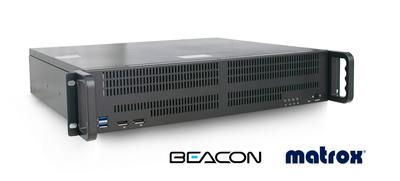 Beacon Launches High-Density Medical Multiviewer Powered By Matrox Video