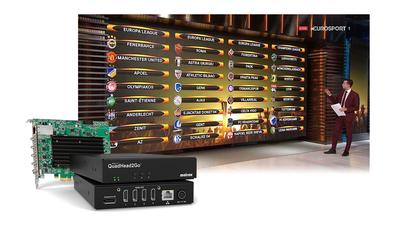ChyronHego Selects Matrox QuadHead2Go to Expand Broadcast Studio Video Wall Designs