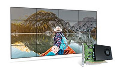 Matrox D1450 Graphics Card for High-Density Output Video Walls Now Shipping