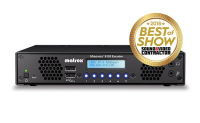 Matrox Impresses Industry Experts at InfoComm, Wins Three Awards for Outstanding AV Excellence