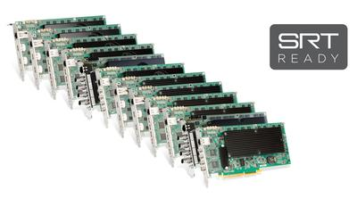 Matrox Mura IPX Encoder Cards Now Support SRT Streaming Protocol