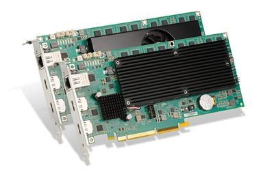 ISE Debut: Matrox Premieres Mura IPX DisplayPort 1.2 Capture Cards for 4K60 Video and Graphics-Rich Display Wall Applications