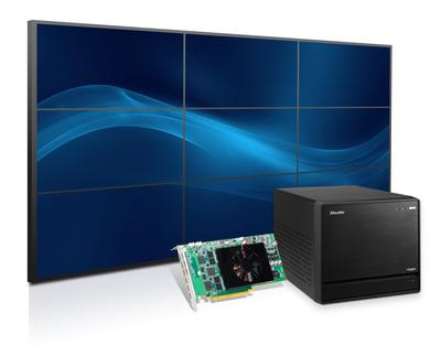 Shuttle Rolls Out Mini PC Solution to Drive Nine Full HD Displays using Matrox C900