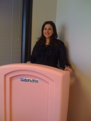 "AmpliVox® Sound Systems ""Pink Podiums"" Raise Breast Cancer Awareness at Susan G. Komen Race for the Cure® Events"