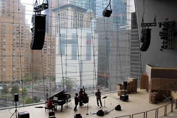 Meyer Sound M'elodie Meets Every Sonic Need at Jazz at Lincoln Center's Allen Room