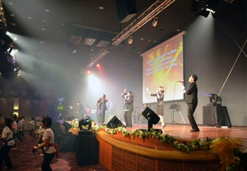 Meyer Sound M'elodie Heightens Speech and Music at Malaysian Church
