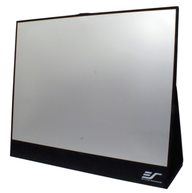 ELITE SCREENS DEBUTS AFFORDABLE MICROFLIP PROJECTION SCREEN FOR ROAD WARRIORS AND JETSETTERS