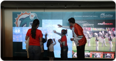 Miami Dolphins Choose Christie MicroTiles and Arsenal Media For Multimedia Wall