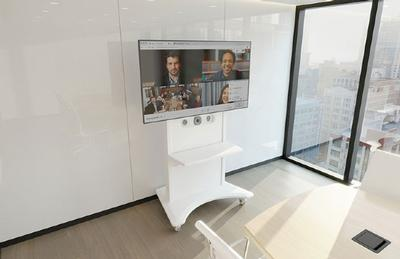Middle Atlantic Rolls Out FlexView™ Conferencing Cart with Integrated Vaddio HuddleSHOT Camera