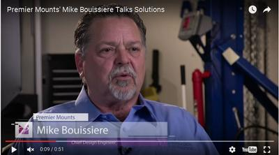 Premier Mounts' Mike Bouissiere Talks Solutions