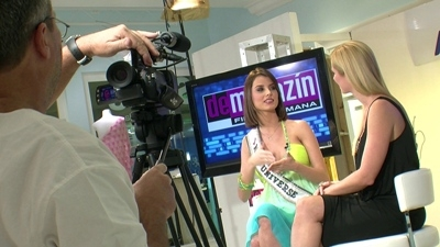 JVC GY-HM100U PROHD CAMCORDERS KEEP PACE WITH MISS UNIVERSE DURING WORLDWIDE TOURS