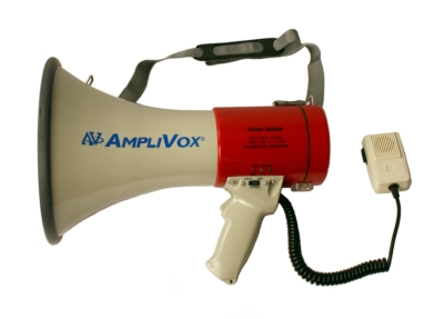AmpliVox Introduces Groundbreaking Rechargeable Megaphones