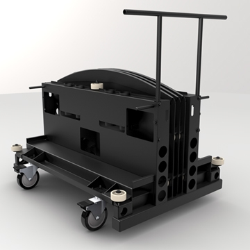 Premier Mounts Introduces the Industry's First Mobile Transport Cart