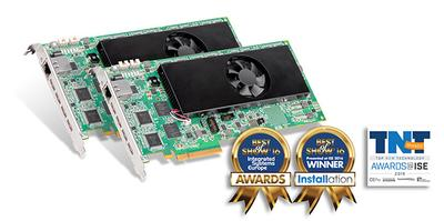Matrox Mura IPX Series Wins Three Prestigious Industry Awards