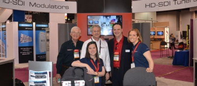 CR to exhibit at NAB Show April 13-16