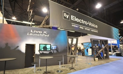 Electro-Voice reports its most successful NAMM showing ever!