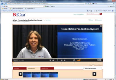 NCast Introduces First Open Presentation Management System