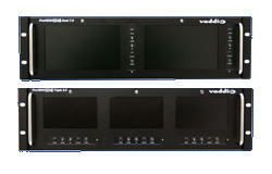 Vaddio Debuts New PreVIEW HD Dual and Triple LCD Rack Mount Monitors