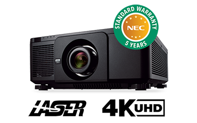 NEC ANNOUNCES RELEASE OF NEW 10,000-LUMENS PROJECTOR WITH 4K NATIVE RESOLUTION