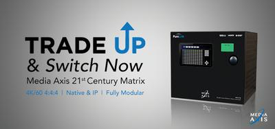 PureLink Trade Up Program Offers Upgrade to Industry's first Purebred 4K60 4:4:4 Matrix