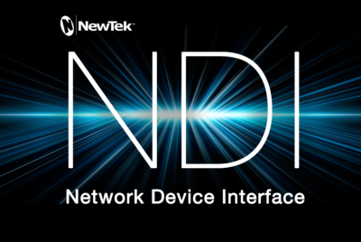 NewTek Announces NDI - Open Protocol for IP Production Workflow
