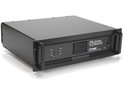 Atlas Sound CP400 Strategy Series Power Amplifier Now Available