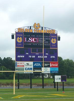 ONE SYSTEMS UPGRADES UNION CITY HIGH SCHOOL FOOTBALL FAN EXPERIENCE