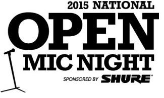 Shure Unveils Venue Lineup For Its 2015 National Open Mic Night