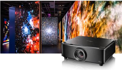 Optoma Introduces World's First Short Throw 7,000 Lumens Fixed Lens Laser Projector
