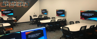 The collaborative learning lab at Oral Roberts University