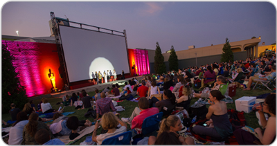"""Oscars Outdoors"" Summer Film Series Shines Bright With Christie DLP Cinema Technology"