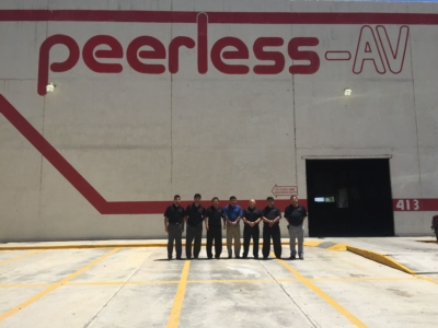 Peerless-AV® Celebrates 20th Anniversary of Mexico Facility