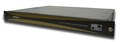 PESA Unveils HDcctv-Compliant Routing Switcher at InfoComm 2012