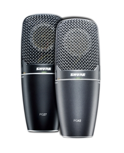 SHURE DEBUTS FOUR NEW RECORDING MICROPHONES AND XLR-TO-USB SIGNAL ADAPTER