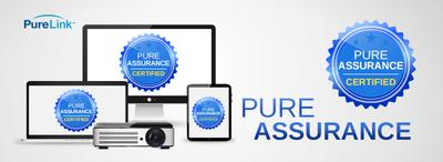 PureLink Expands PureAssurance Program - Proprietary Program Certifies Additional Display, Source & Control Devices for Matrix & IP Video Switching