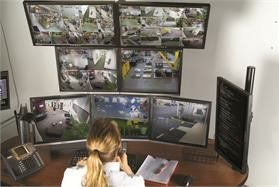Multi-Monitor Mounts Provide Ideal Setup for Security Centers