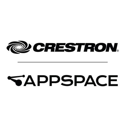 Crestron and Appspace partner to deliver the new standard for workplace communications