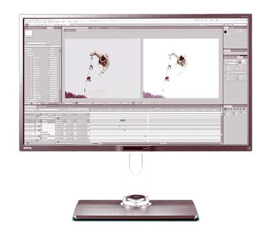 BenQ Unveils New PV3200PT 4K UHD Monitor for Video Editing Professionals
