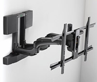 Chief Introduces a New Automated Swing Arm Wall Mount at InfoComm 2010