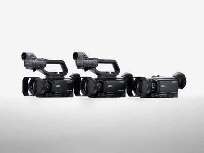 Sony Unveils First Camcorders with Phase-detection AF