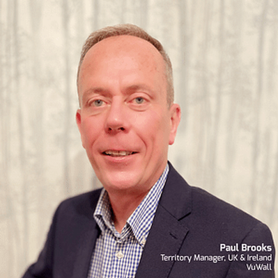 VuWall Appoints Paul Brooks to Expand European Footprint into the United Kingdom